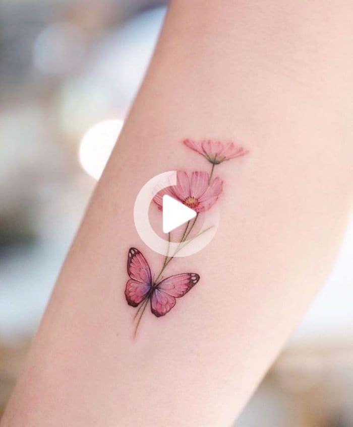 39 Tatuagens de Borboletas Fantásticas - Página 2 de 8 - 123 Tatuagens