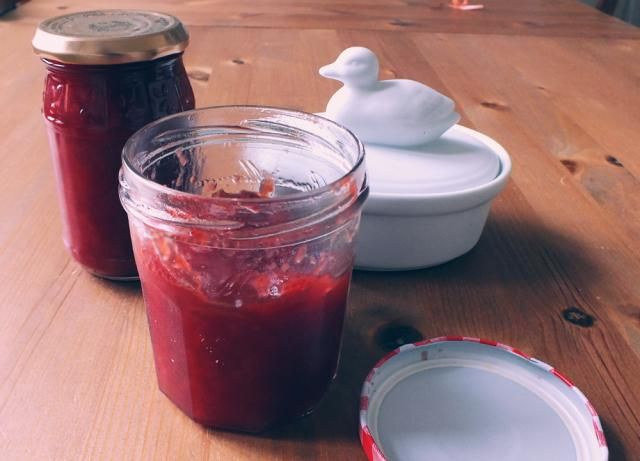 homemade strawberry orange jam