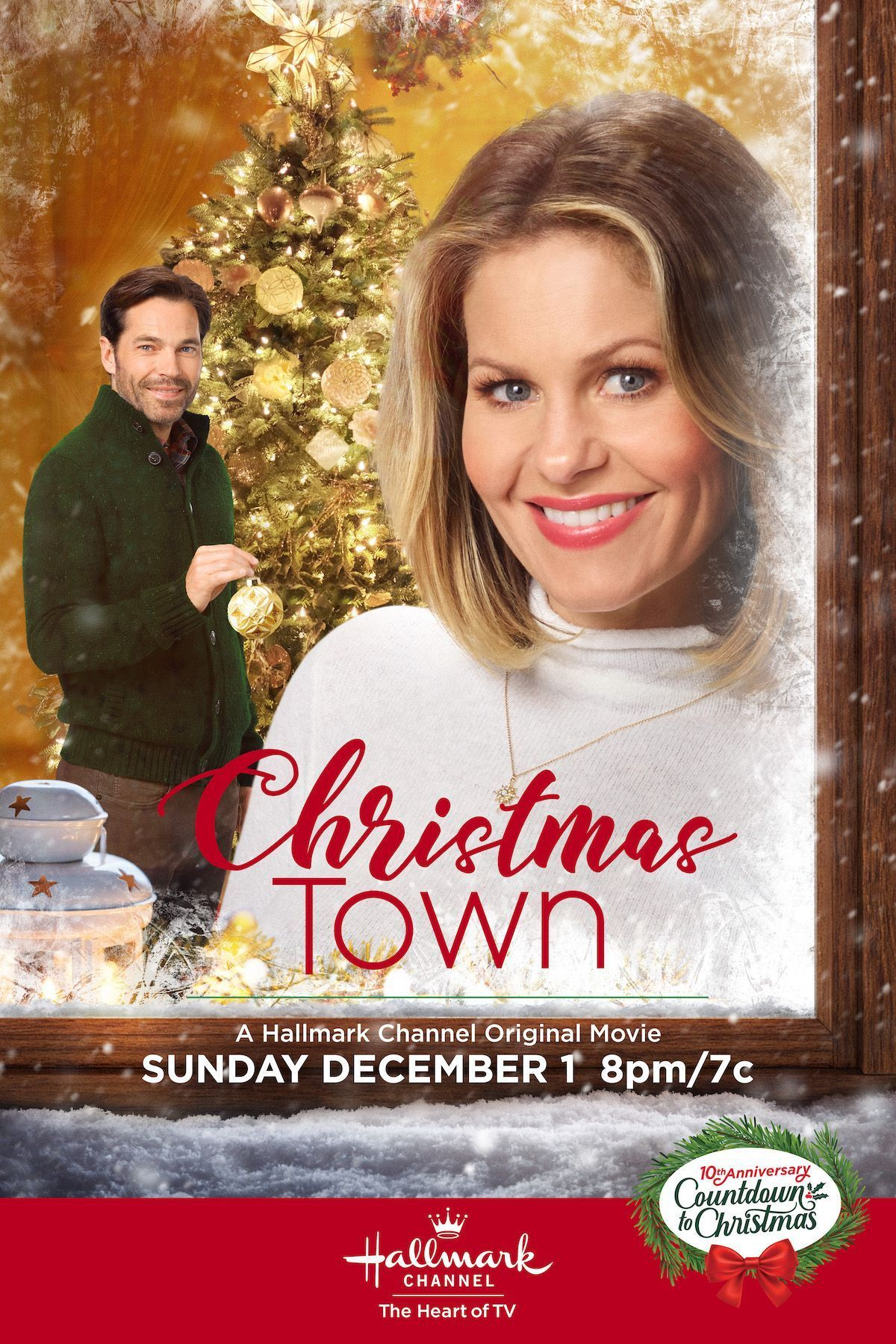 Candace Cameron Bure And Tim Rozon Star In Christmas Town Premiering December 1 Hallmark Channel Christmas Movies Hallmark Christmas Movies Christmas Movies