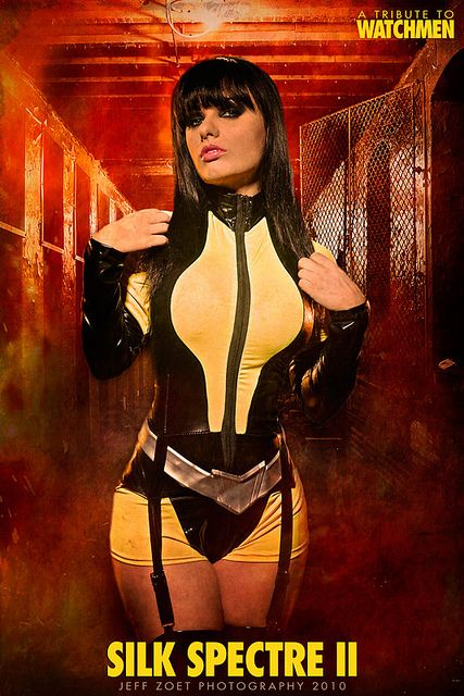 Watchmen - Silk Spectre II cosplay by Jeff Zoet