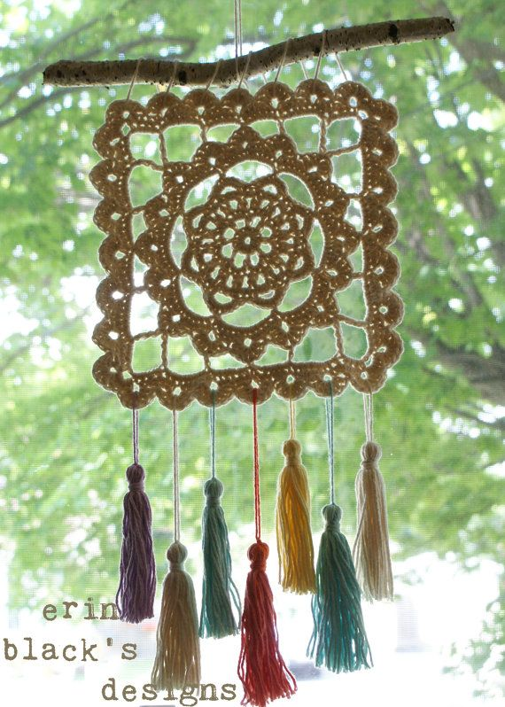 DIY Crochet PATTERN - Dreaming of Granny, Granny Square, 10.5 ...