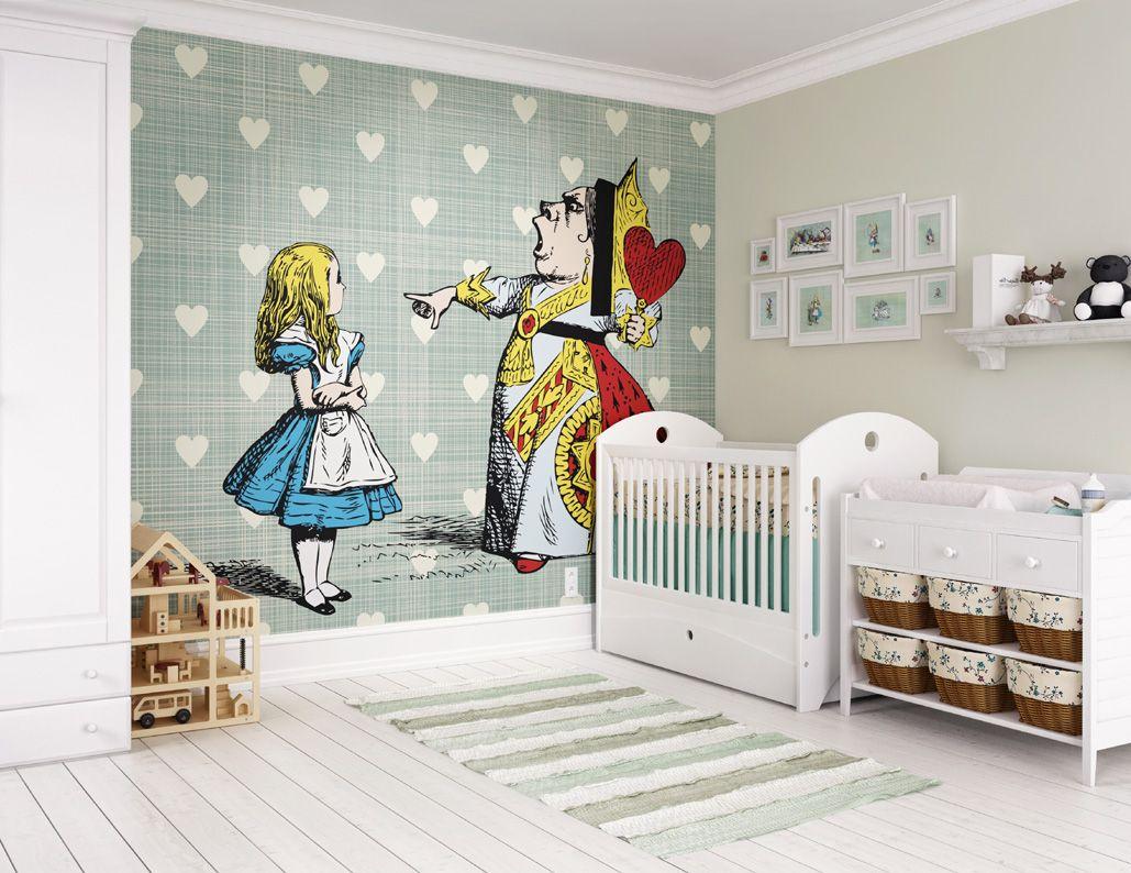 Best Alice In Wonderland Queen Of Hearts Wall Mural Heart 400 x 300