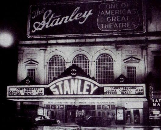 Jersey City History The Stanley Theater Showing The Carpetbaggers 1964 Jersey City