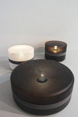 Steel Drop, lampe à poser, style industriel