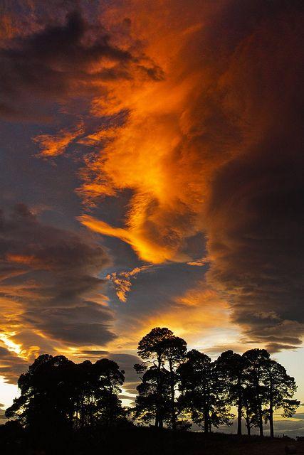 Entardecer na Escócia. Fotografia: Andrew amcgdesigns no Flickr.