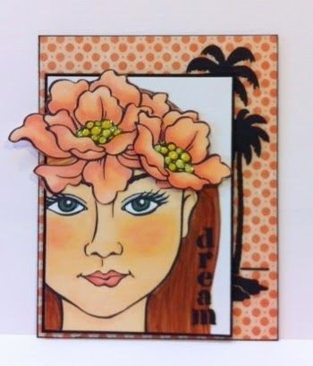 #cre8time for Artfully Articulate: #Dreamweaver #Stampendous Blog Hop