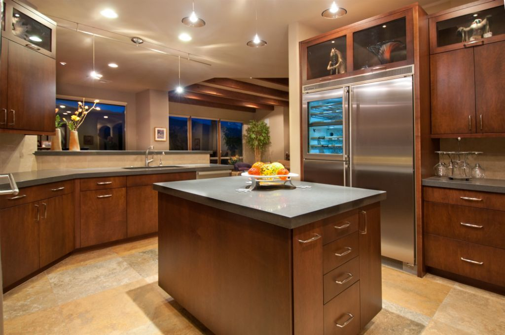kitchen cabinets islands | kitchen cabinet design: island - canyon