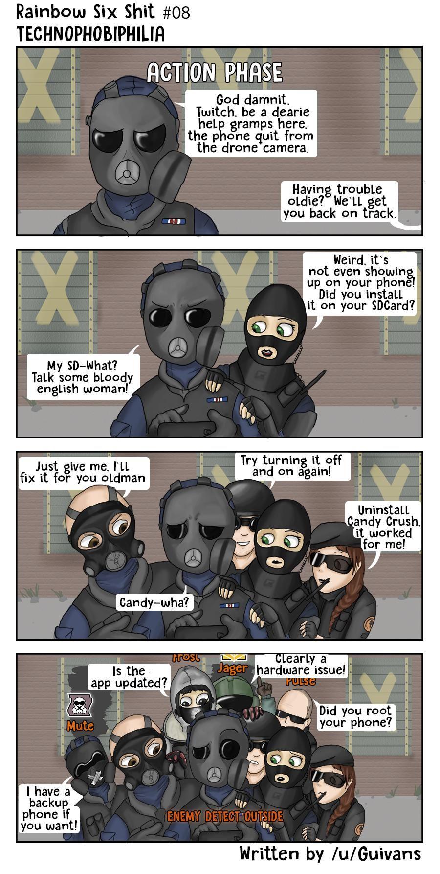 Jager Rainbow 6 Siege Memes