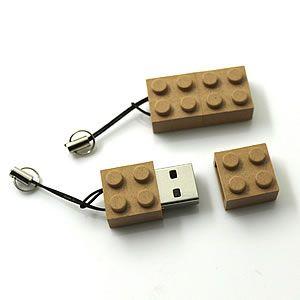 Clé USB recyclée