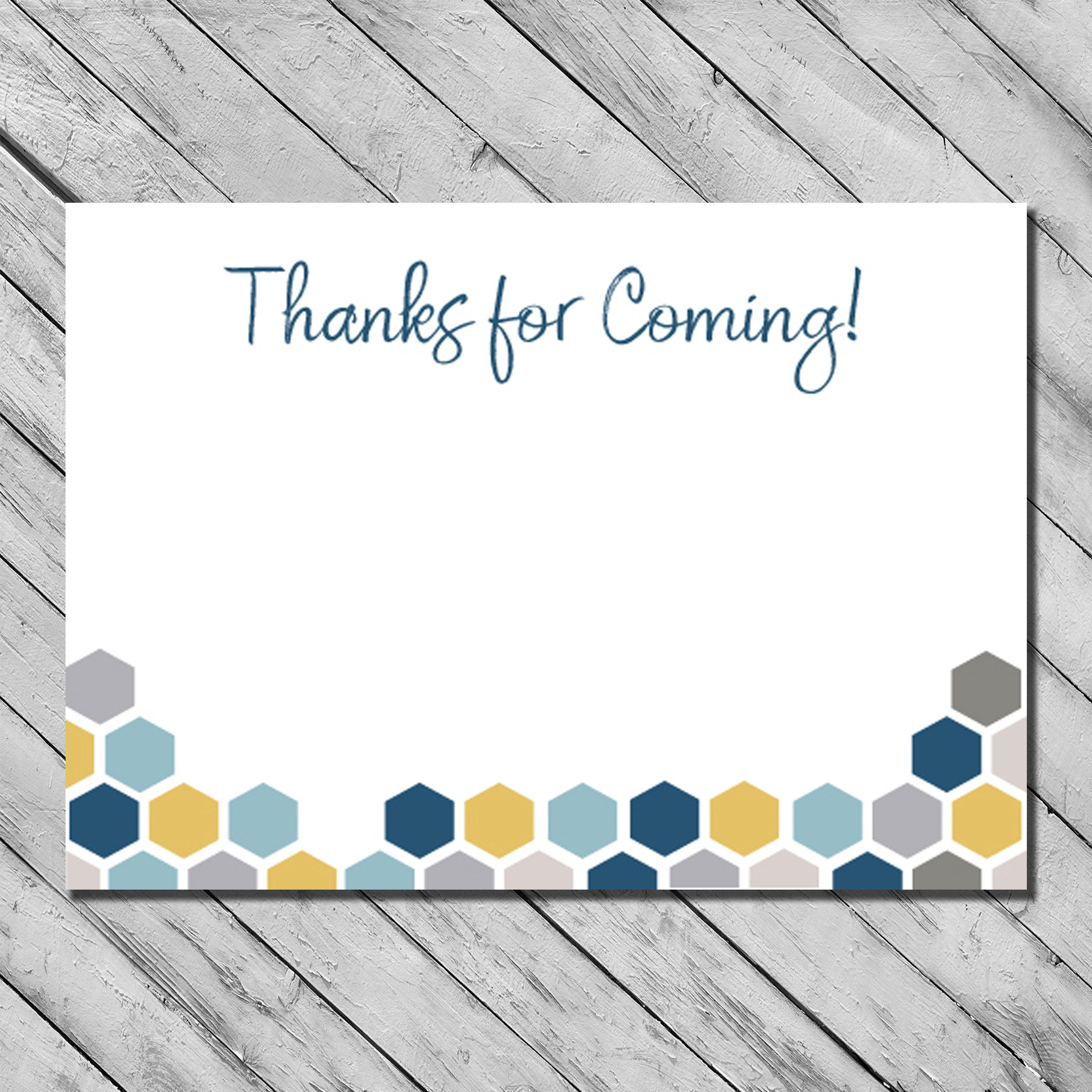 Bee Baby Shower Thank You Cards - Gender Neutral Baby Shower Cards ...