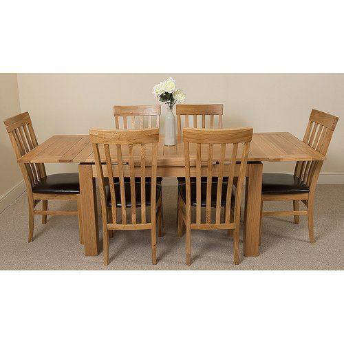 Cool Valenzano Dining Set With 6 Chairs Red Barrel Studio Table Dailytribune Chair Design For Home Dailytribuneorg
