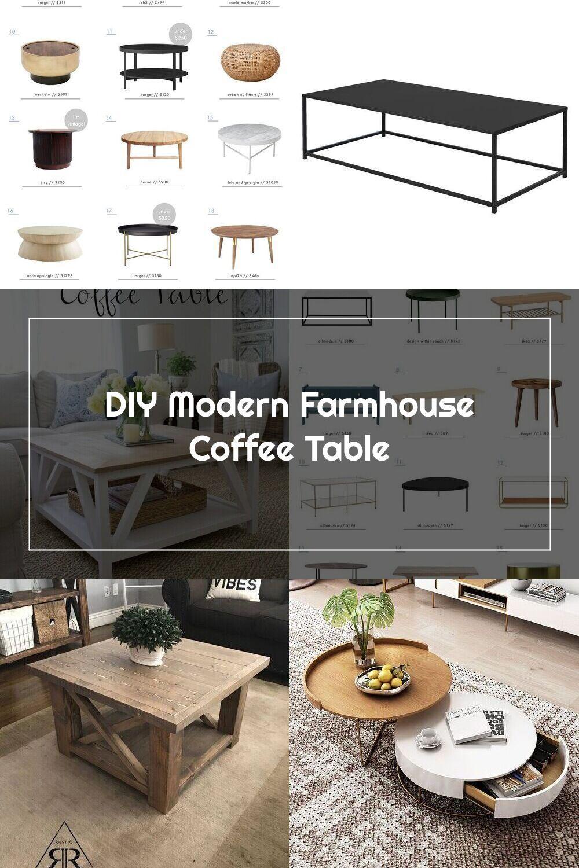 Diy Modern Farmhouse Square Coffee Table Coffee Table Farmhouse Coffee Table Modern Farmhouse Diy [ 1500 x 1000 Pixel ]