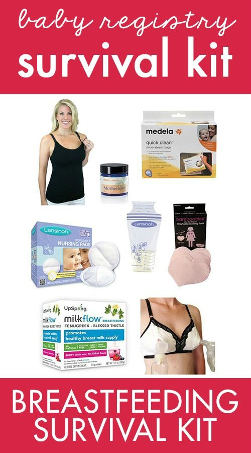 Planning on breastfeeding? Nab our survival kit, chock full of tried and true favorites to help make it as easy (and comfortable) as possible.