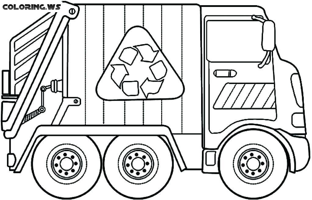 Dump Truck Coloring Pages Truck Coloring Pages In This