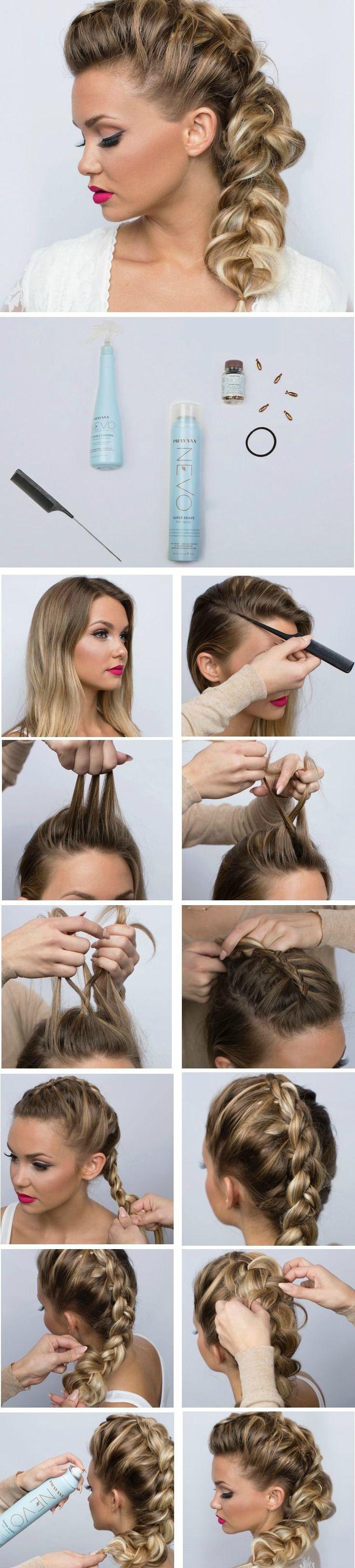 How To Fake a Fishbone Braid | That Hair | Pinterest ...