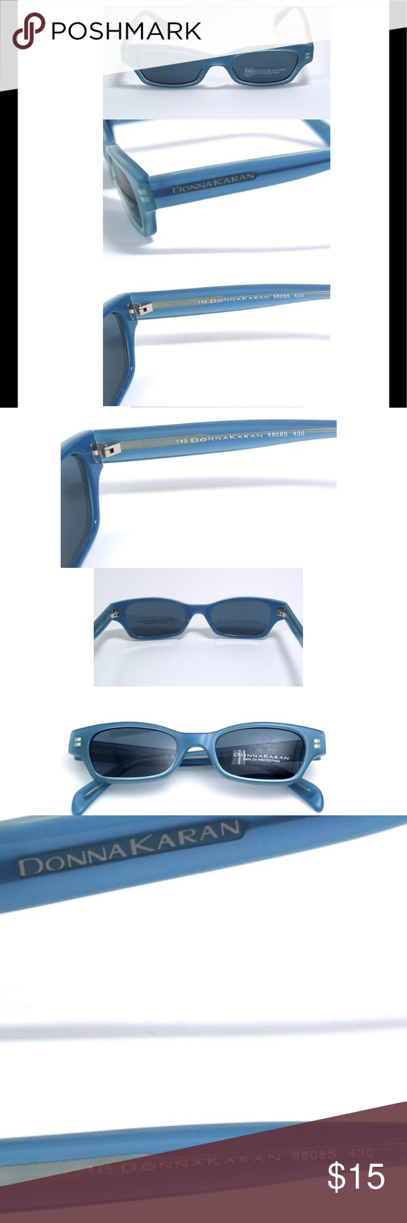 f28a97537a52 EUC Donna Karan Sunglasses 9808S-430 EUC Donna Karan Sunglasses 9808S-430.  No scratches on lenses or frame. Color  gray dark periwinkle Made in Japan  Eye 48 ...