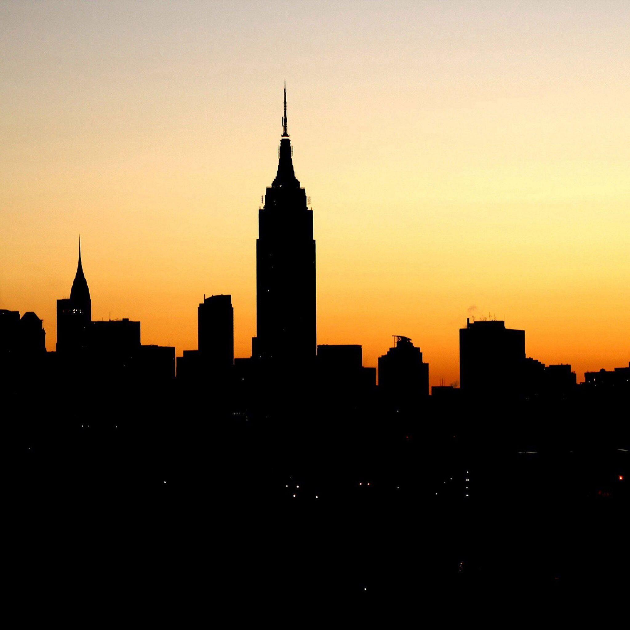 Empire State Silhouette.
