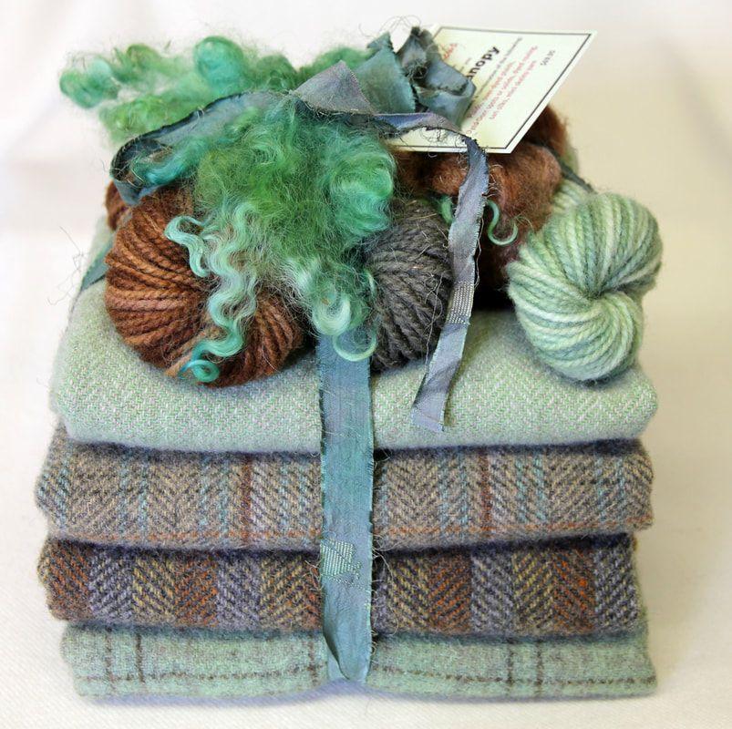 Rug Hooking, Rug Binding, Wool Felt