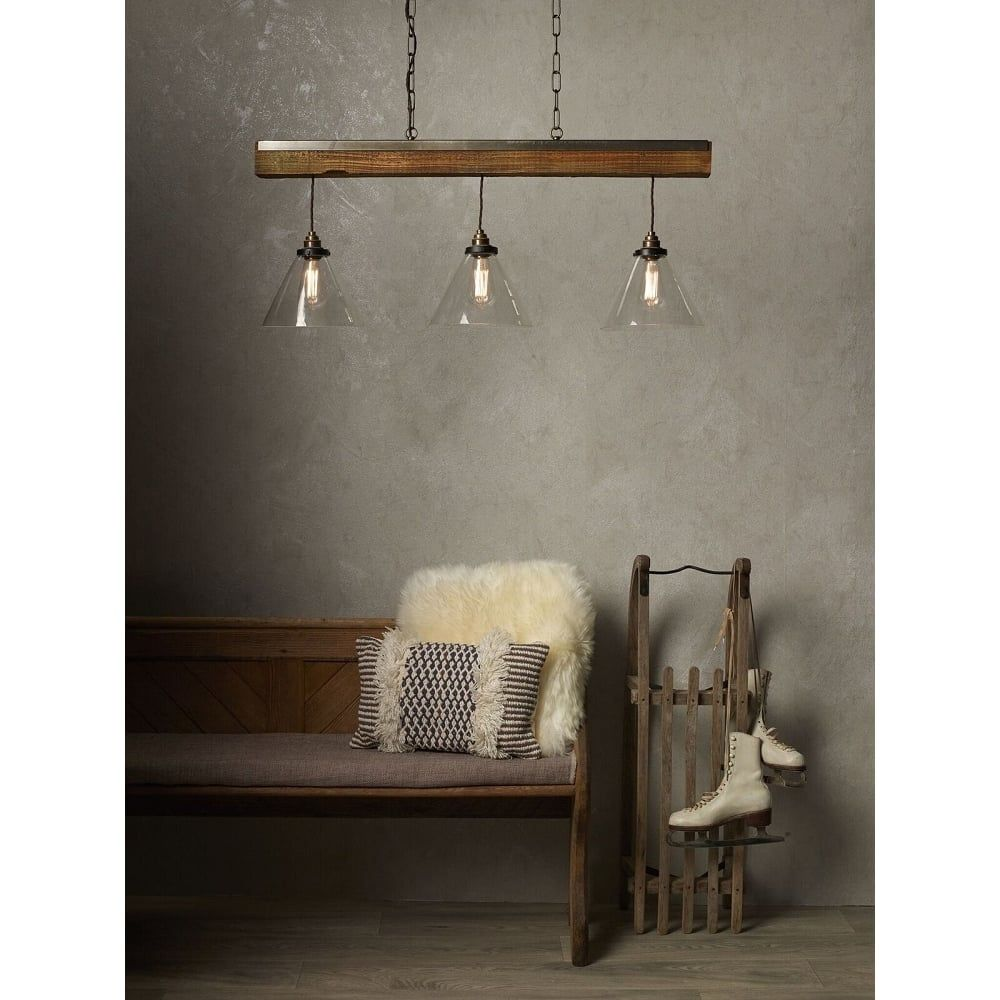 10 Lights Chandelier Wooden Retro Rustic Pendant Light Industrial Suspension Light line can be Adjusted Freely Distressed Wood Chandelier for