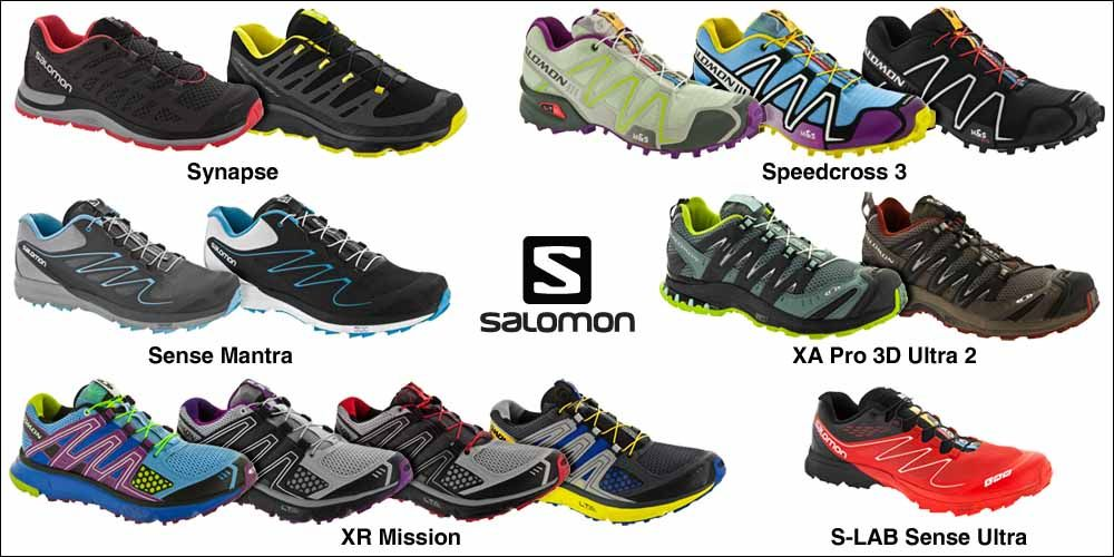 Salomon Running Shoes  Time to Hit the Trail  9deffa63125