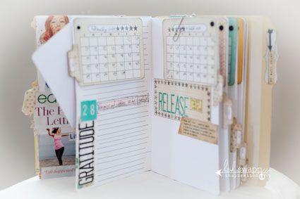 Planner-Scrapbook decoration