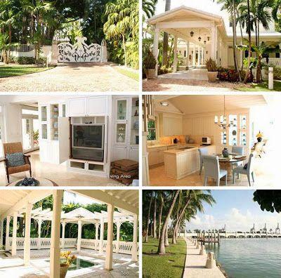 Gloria Estefan S Guest House Celebrity Homes For Houses Celebrities Bedroom