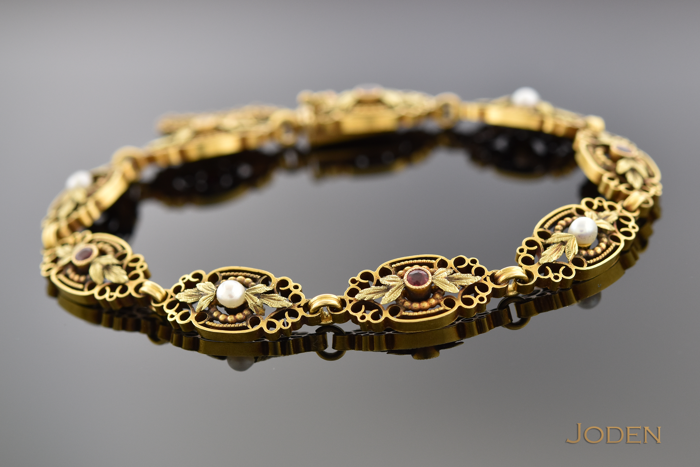 Each detailed link is handmade during the very late victorian period