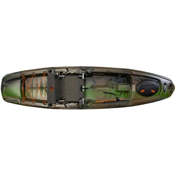 Pelican Premium The Catch 120 11ft 8t In Fade Olive Camo Light Khaki Angler Kayak By Pelican Premium Angler Kayak Kayaking Wooden Kayak