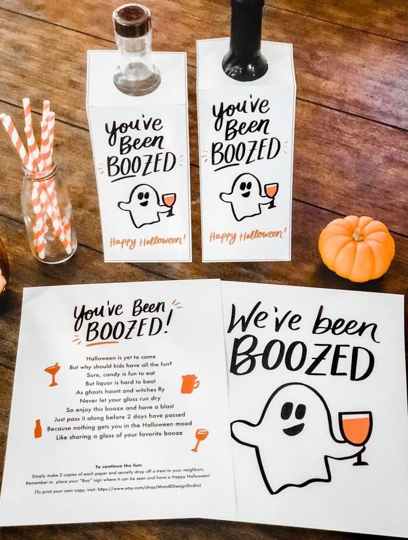 You've Been Boozed We've Been Boozed Printable   Etsy