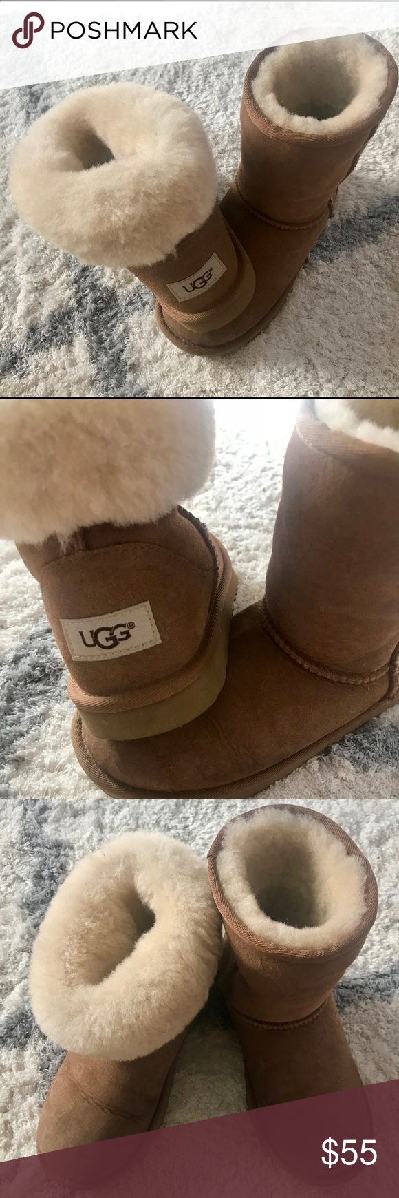 59b350bffe6 Spotted while shopping on Poshmark: UGG Boots kids Size 3 ...