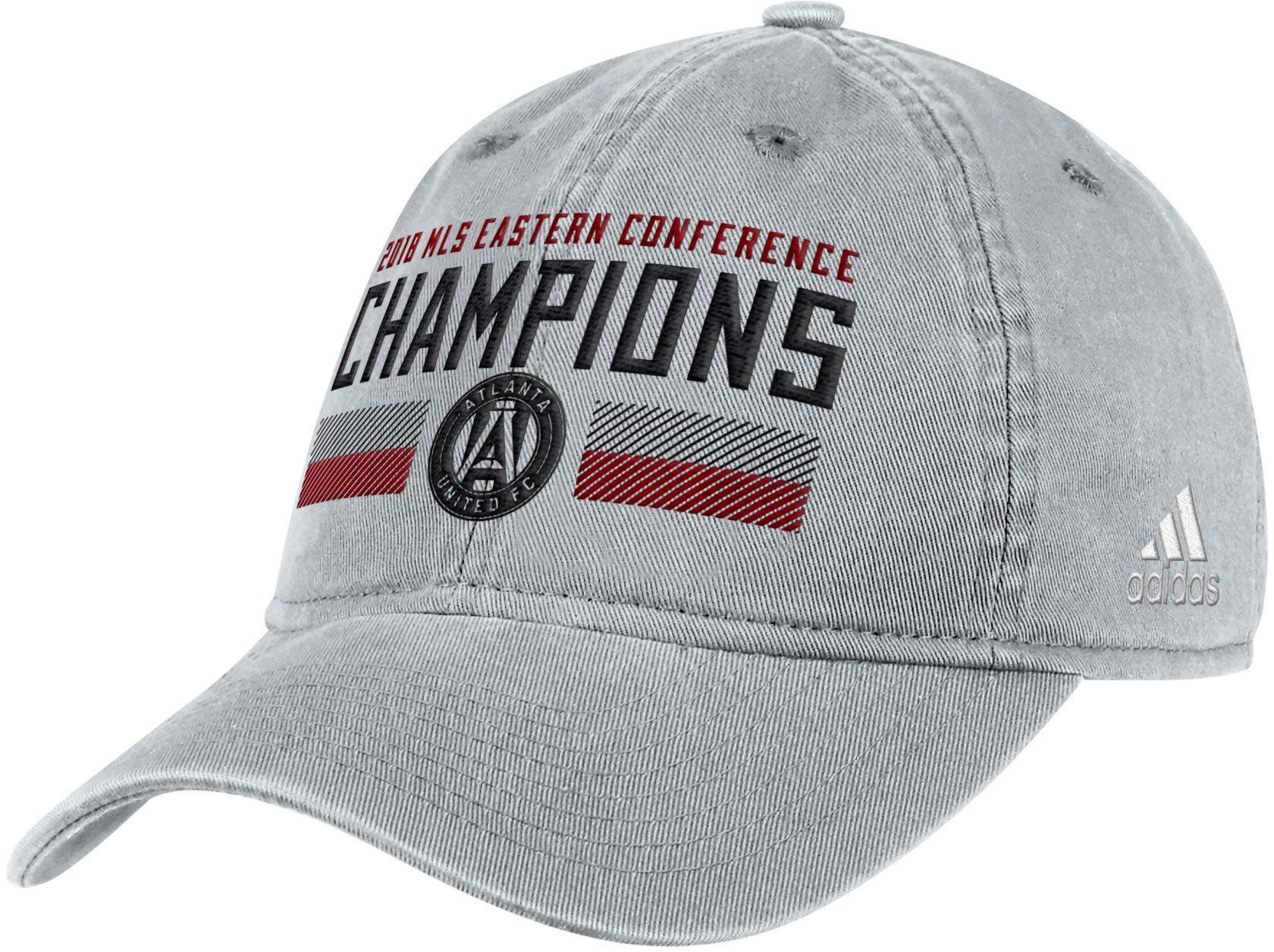Adidas Men S 2018 Mls Cup Conference Champions Atlanta United Grey