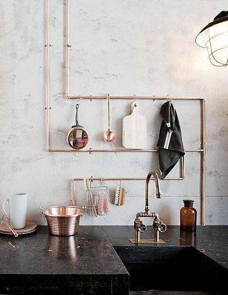 Copper Craze  43 Ways To Embrace This Home Decor Trend Kitchen