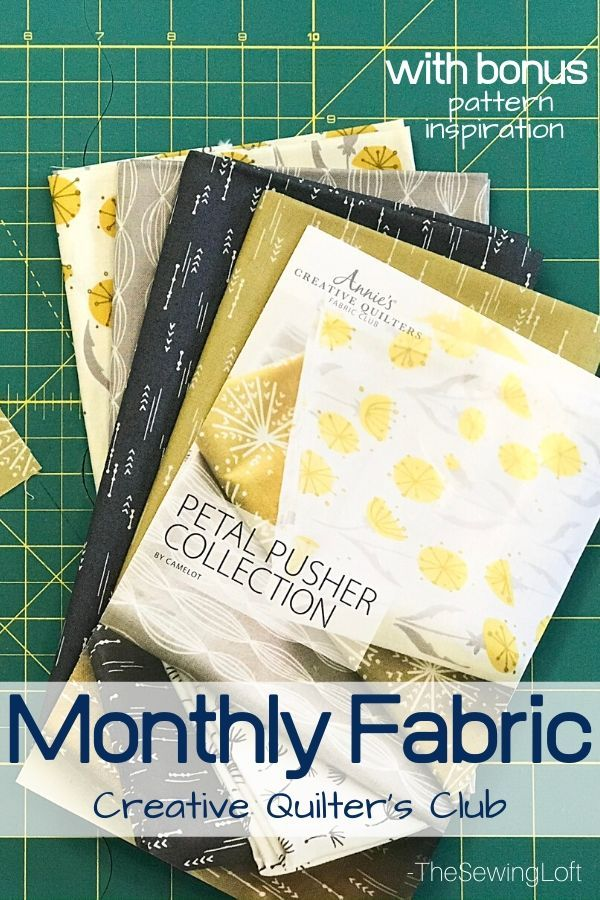 Creative Quilter's Fabric Club Box Reveal - The Sewing Loft