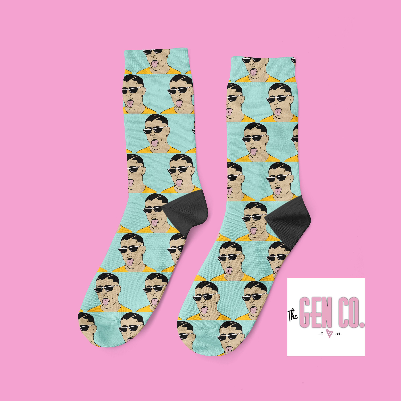 Ozuna Socks Personalized Sock Ozuna
