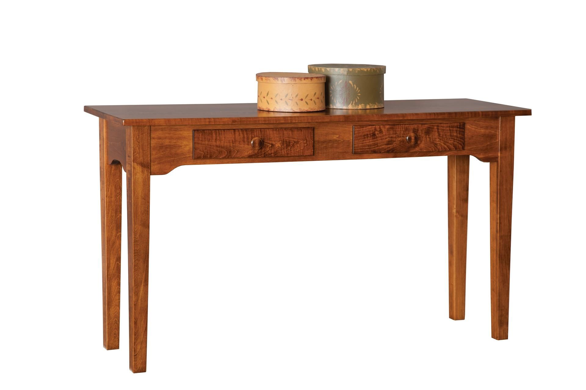 solid cherry sofa table recliner repair bangalore amish wood and console tables