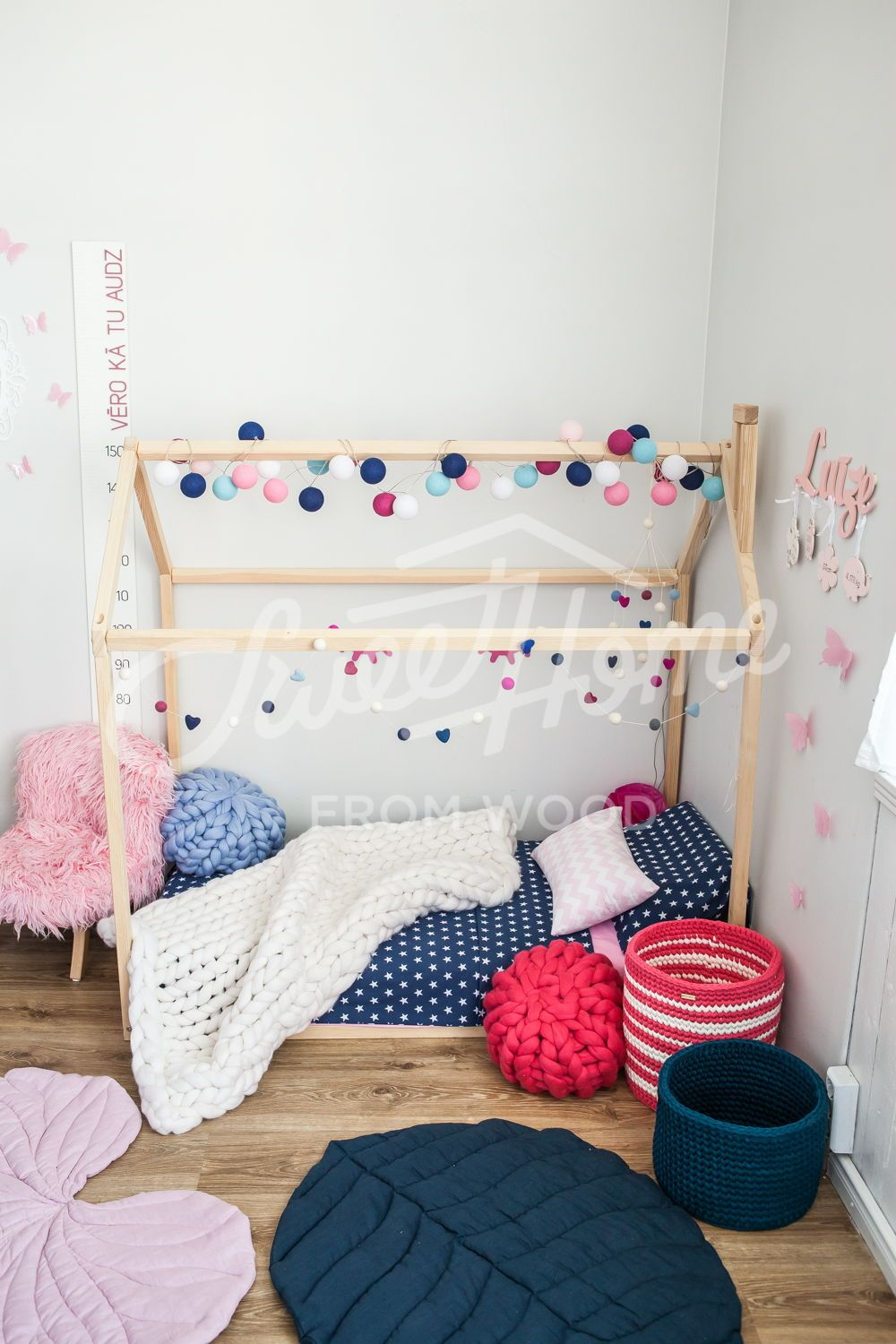 House Bed Toddler Bed House Montessori Toys Montessori