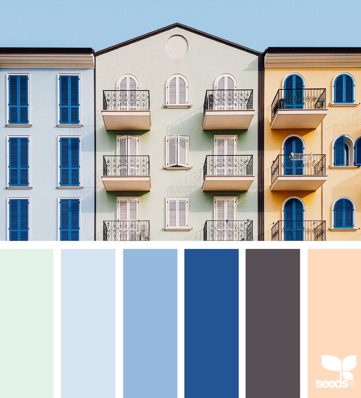 7 Soothing Color Palettes For Your Bedroom In 2019: Cards - Color Palettes