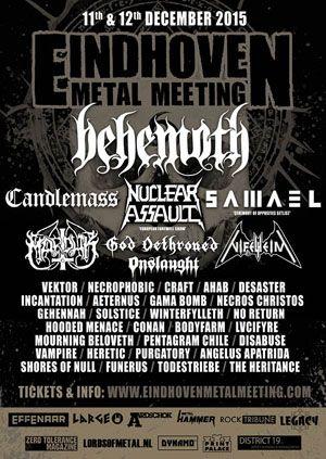eindhoven metal meeting 2015 | metal music | eindhoven