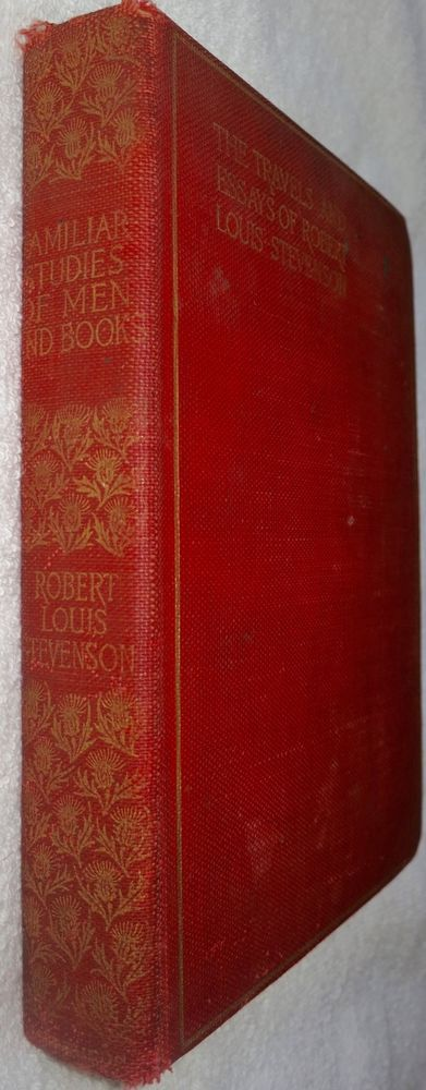 Travels Essays Of Robert Louis Stevenson Familiar Studies Men Books 1895