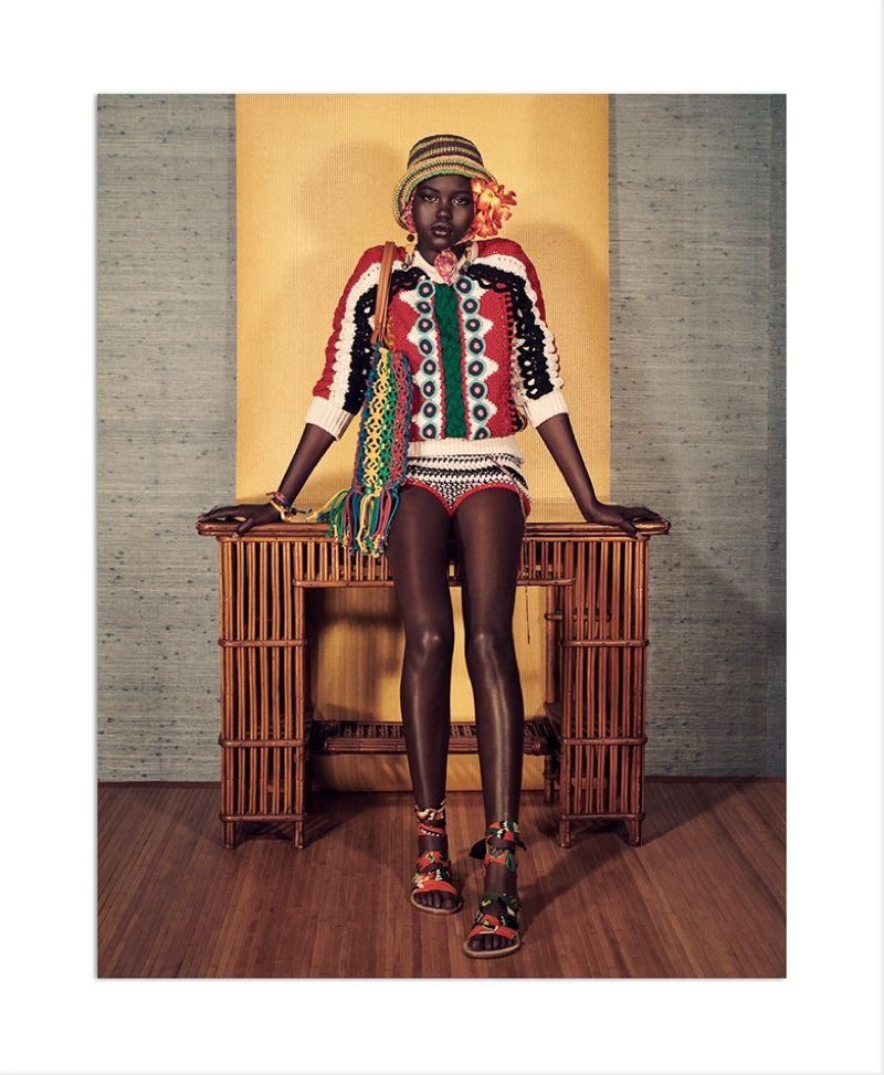 dbbc2315 intarsia, crocet and applique sweater- Zara's spring-summer 2018 campaign