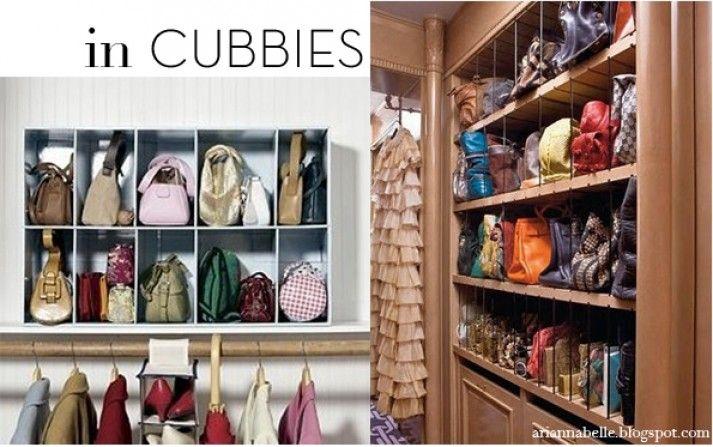 Handbag Closet Organizer Design #4 Closet Handbag Storage