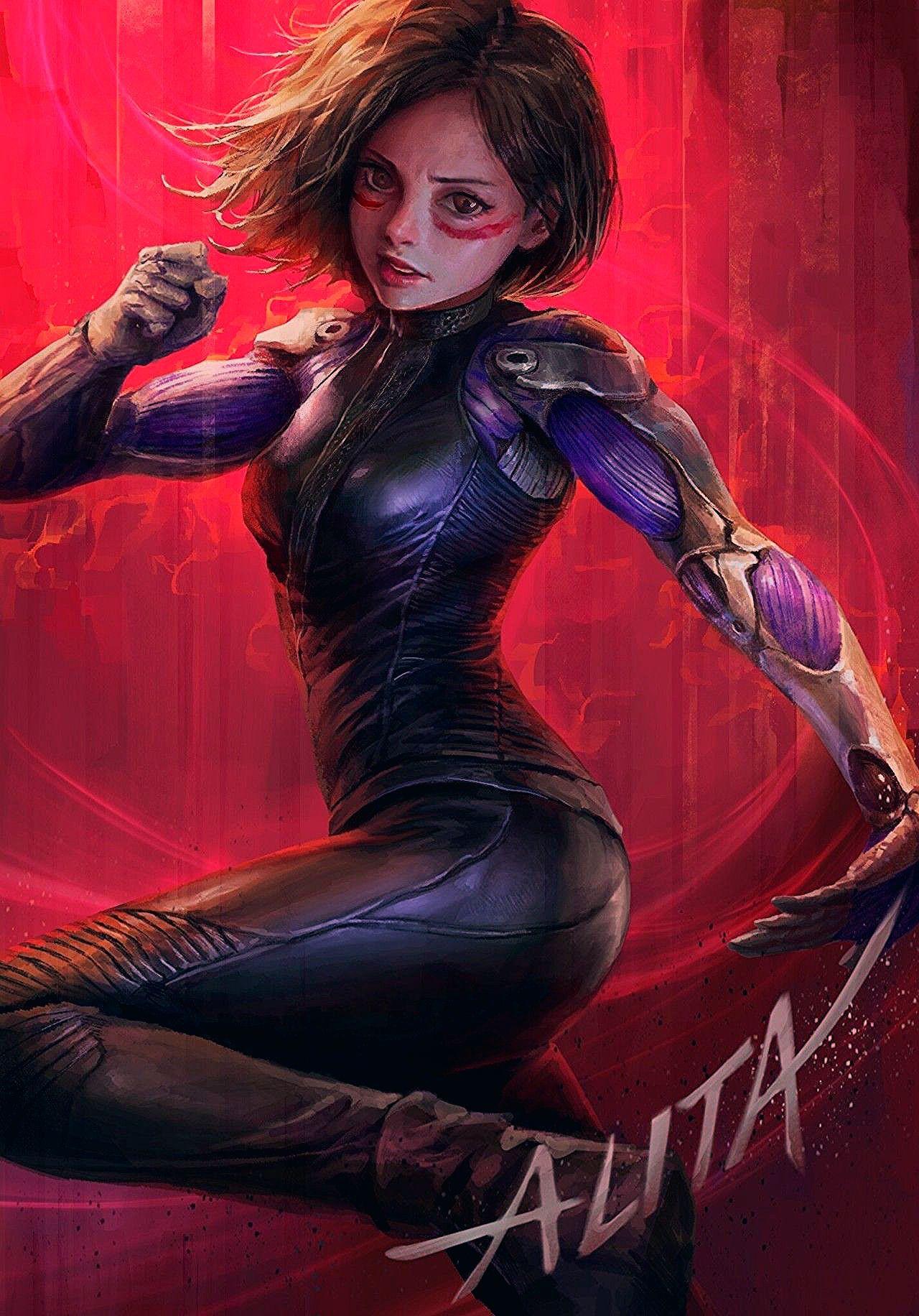 Alita Battle Angel Fan Art Created by Rayden... in 2020