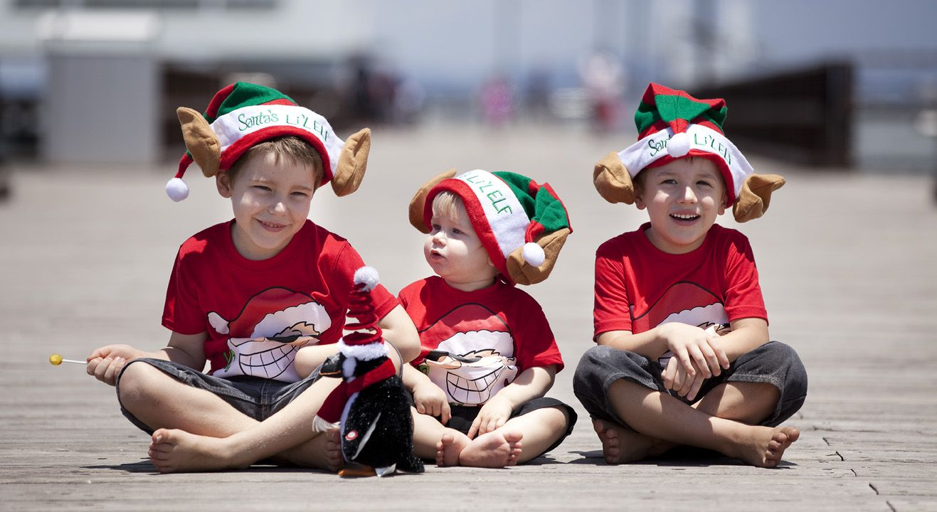 Christmas Kids Photoshoot