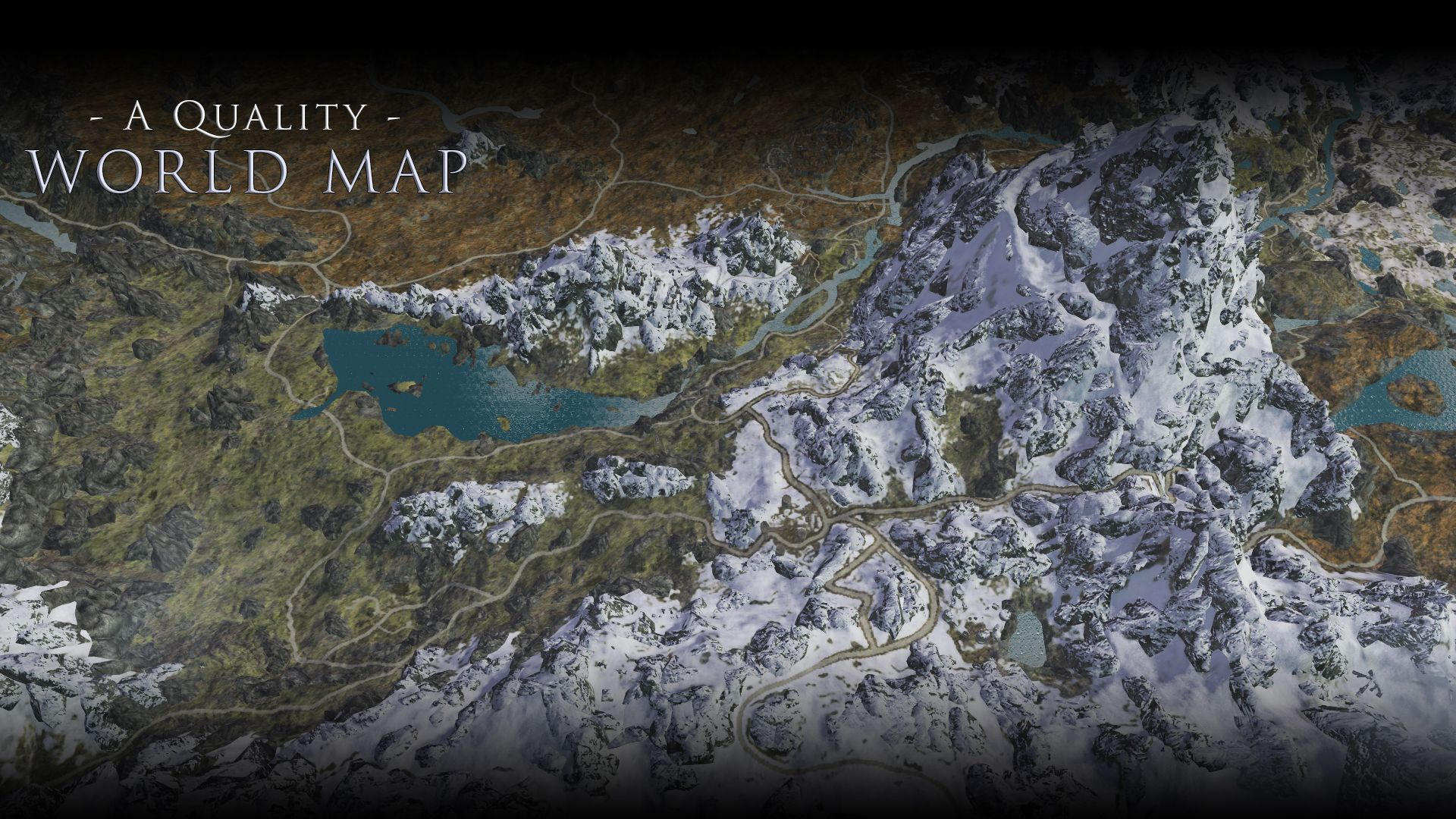 A Quality World Map and Solstheim Map