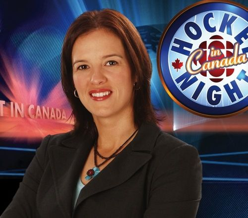 Cassie Campbell On Be My Guest Hockey Campbell Canadian Girls