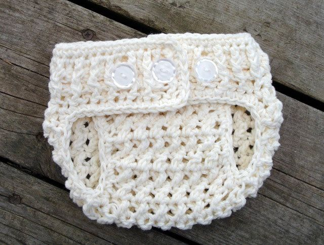 Crochet Pattern for Unisex Stars and Stripes Diaper Cover - size ...