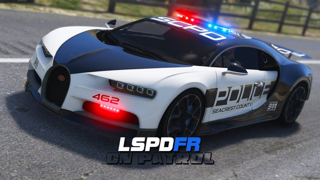 Lspdfr Day 312 Police Bugatti Chiron Police Cars Police Truck Cool Sports Cars