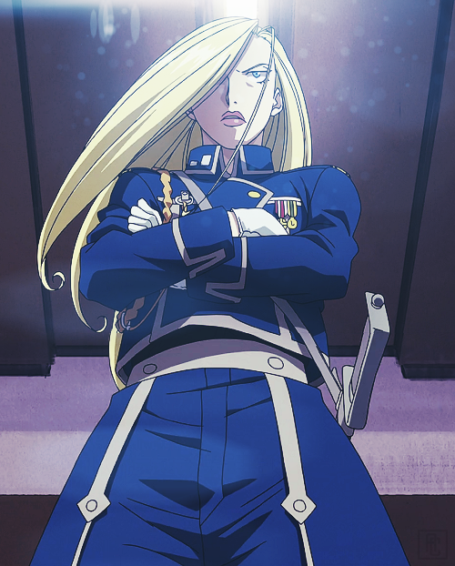 Olivier Armstrong from Fullmetal Alchemist: Brotherhood- my choice to Cosplay in (if I ever have ...