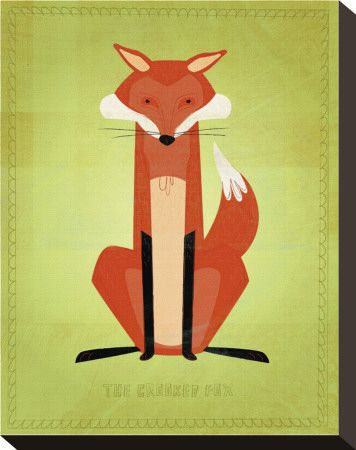 Poster of fox in 3 frame series