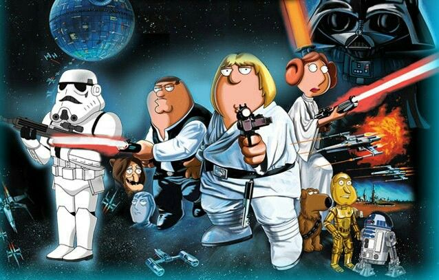 Padre de familia -Star Wars